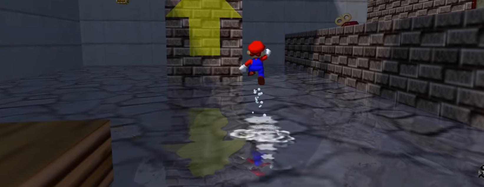 A Mario 64 ray tracing mod? Sure screenshot