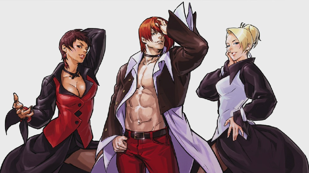 The excellent King of Fighters 2002 Unlimited Match now available on PS4 screenshot