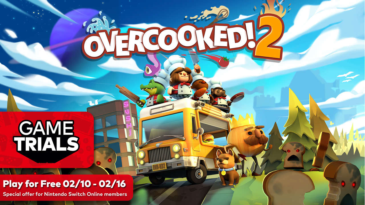 Nintendo Switch Online has an Overcooked 2 trial ready for Valentine's Day screenshot