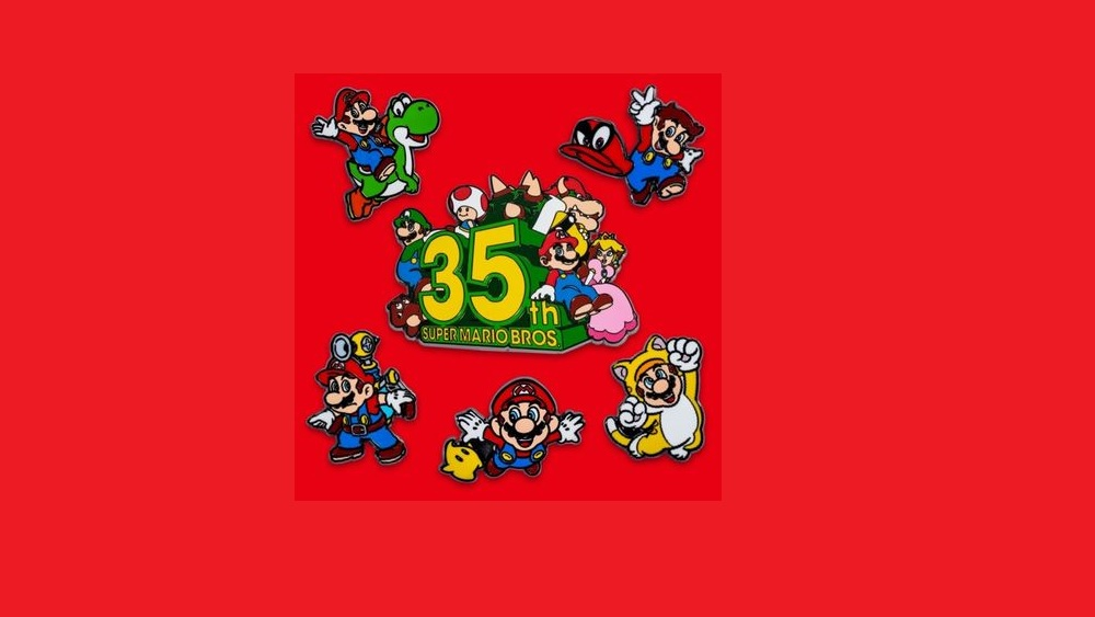When can you get the new 3D World Mario pins? 'February 17,' says Nintendo screenshot
