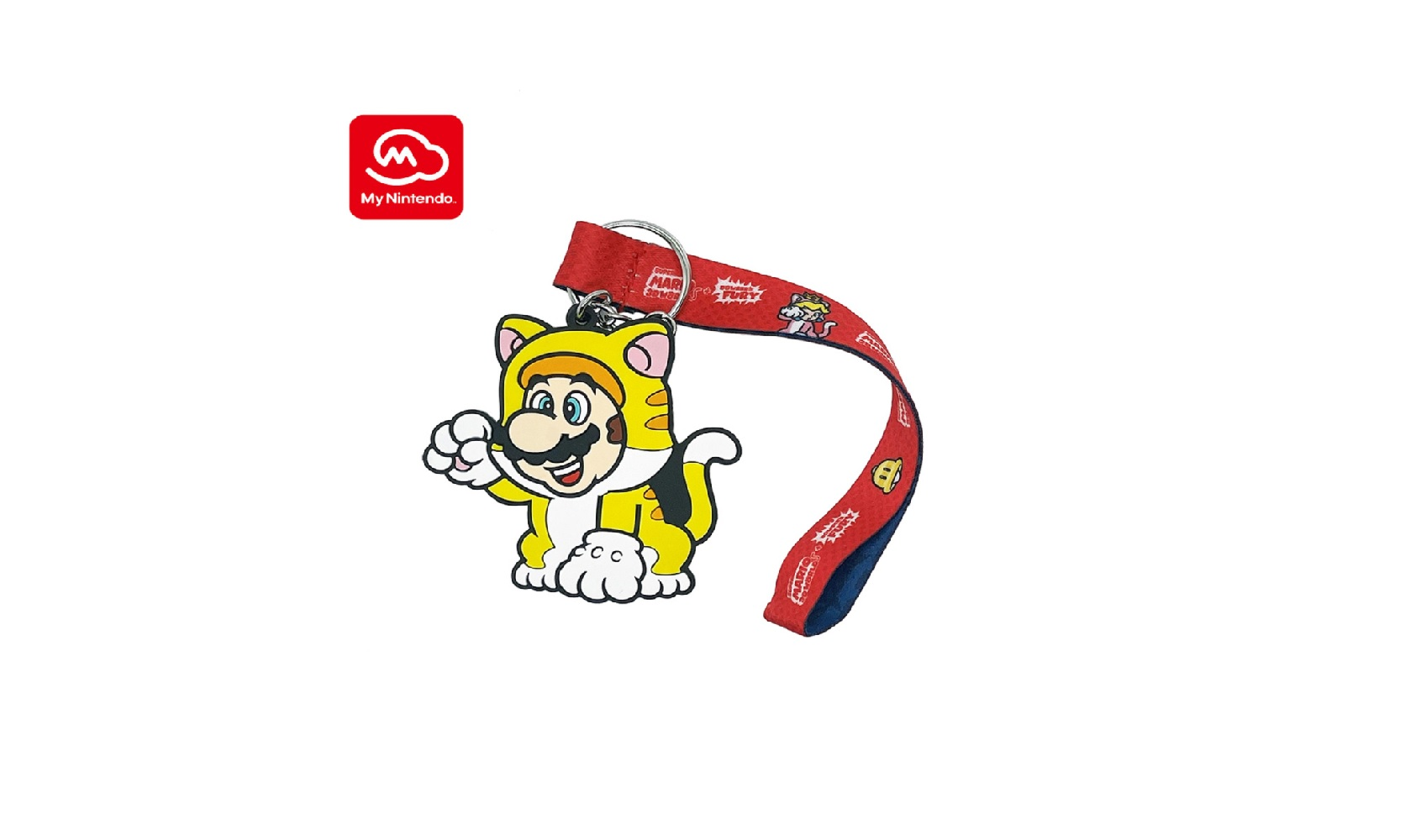 My Nintendo just got a new Cat Mario keychain along with a huge restock screenshot