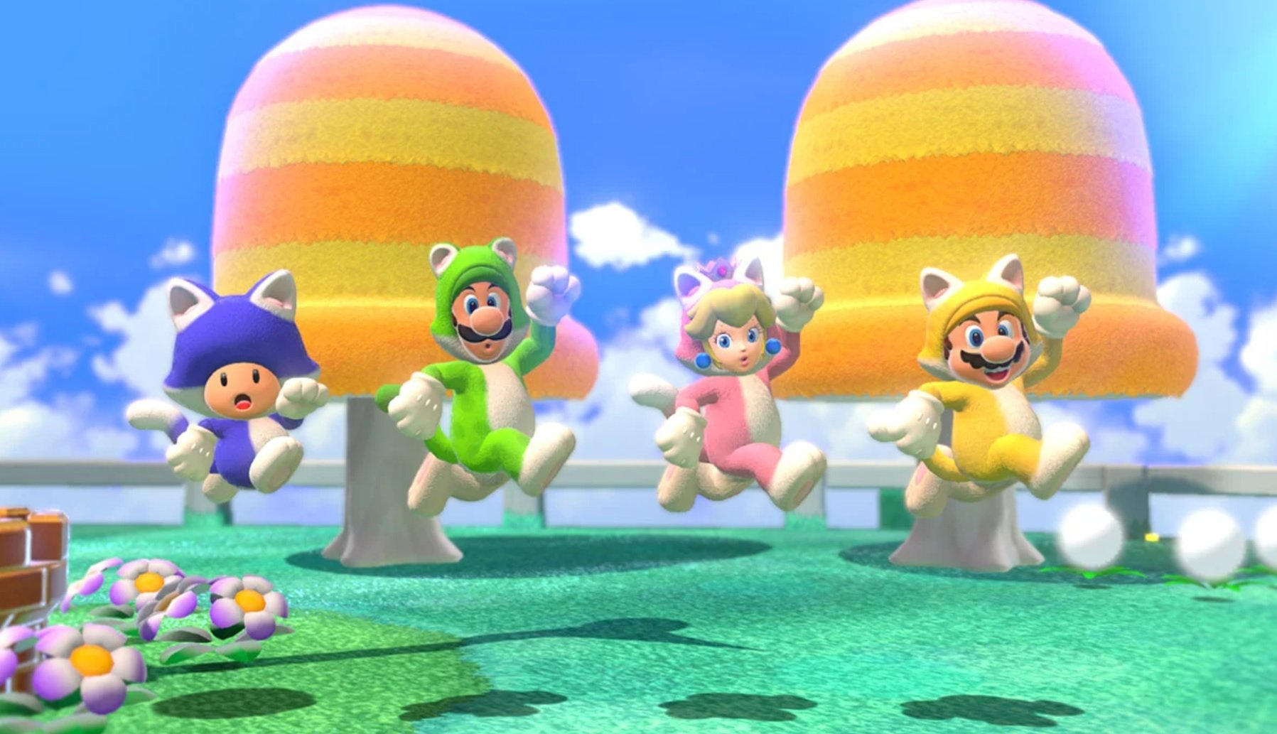 Super Mario 3D World + Bowser's Fury got a day one patch to smooth over a few minor things screenshot