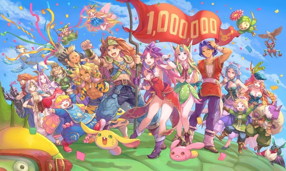 Trials of Mana celebrates one million shipments and digital sales screenshot