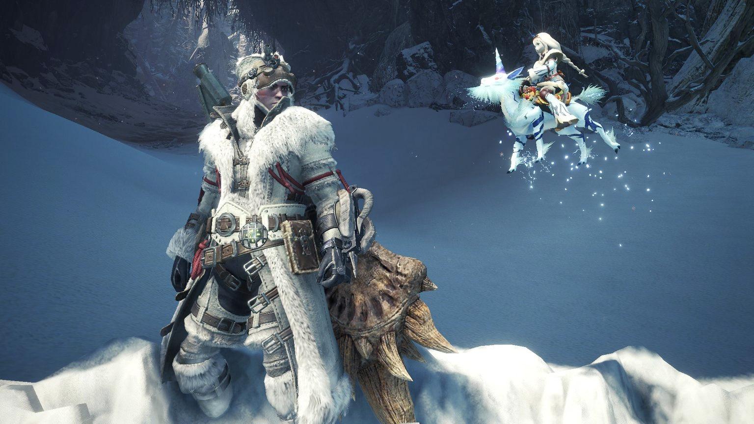 We can finally grab the Kirin Rider pendant in Monster Hunter World: Iceborne next week screenshot