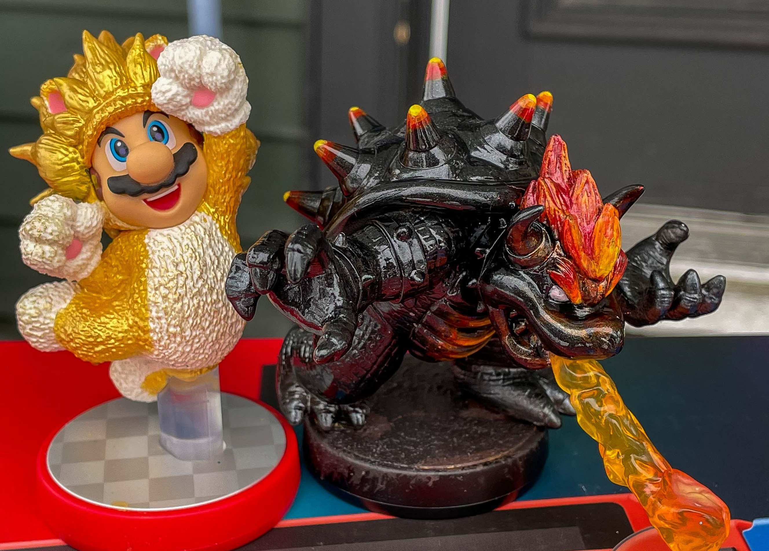 If amiibo were still in their heyday, we probably would have officially gotten these Bowser's Fury fan creations screenshot
