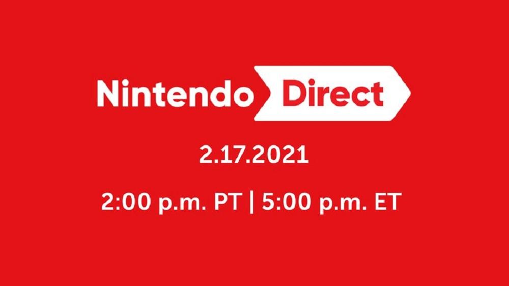 Nintendo Direct confirmed for tomorrow, February 17 screenshot