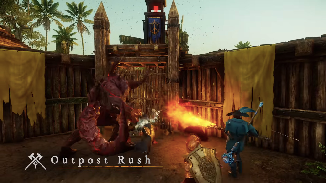 New World will have a meaty closed beta in July right before the full launch screenshot