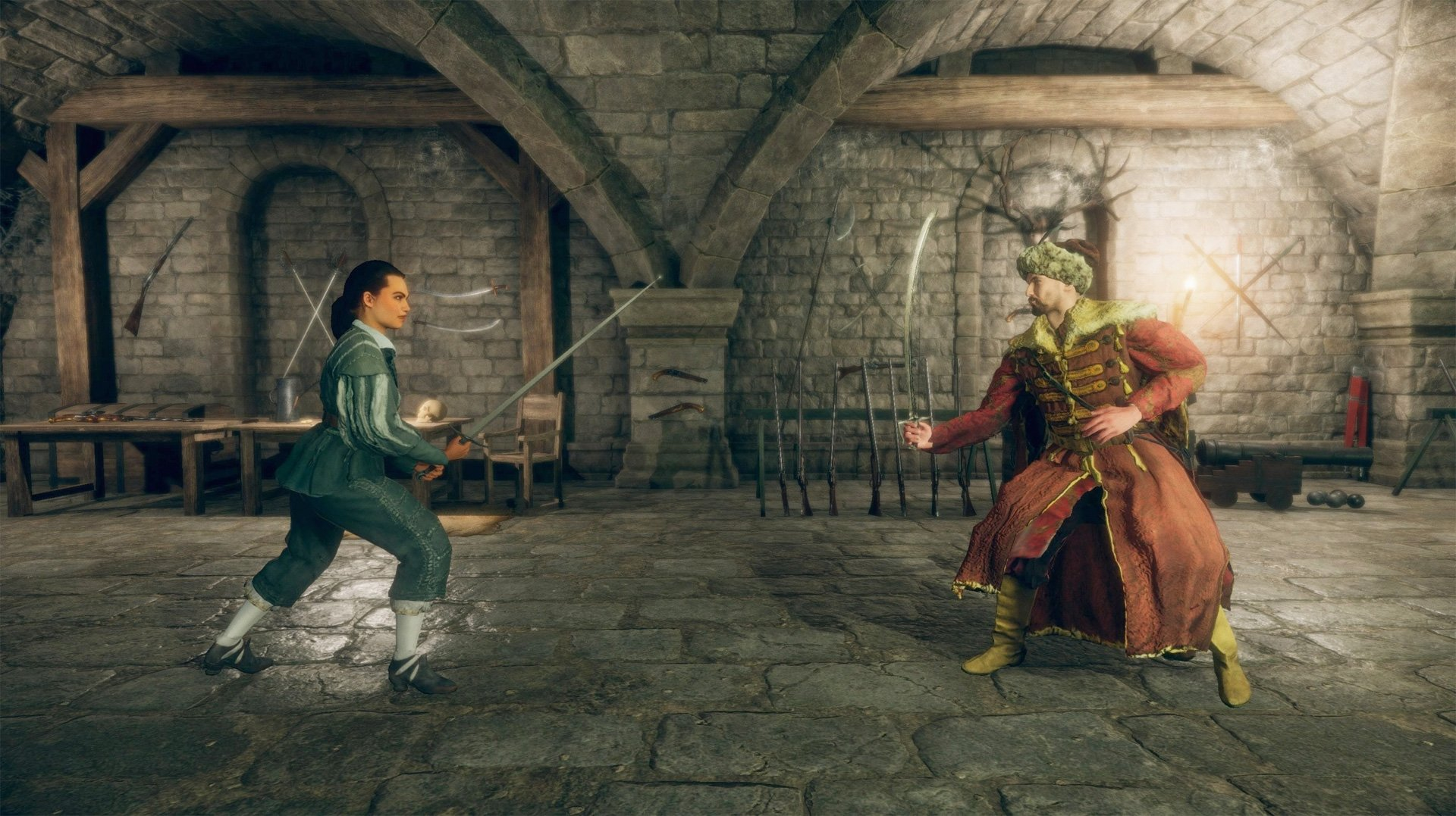 Hellish Quart is tapping into Bushido Blade with its lethal duels screenshot