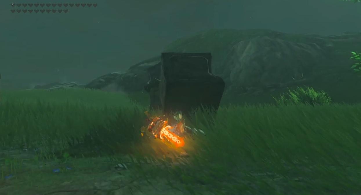 Sometimes, Zelda: Breath of the Wild just humbles us screenshot