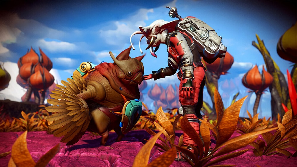 No Man's Sky lets you catch 'em all in new Companions update screenshot