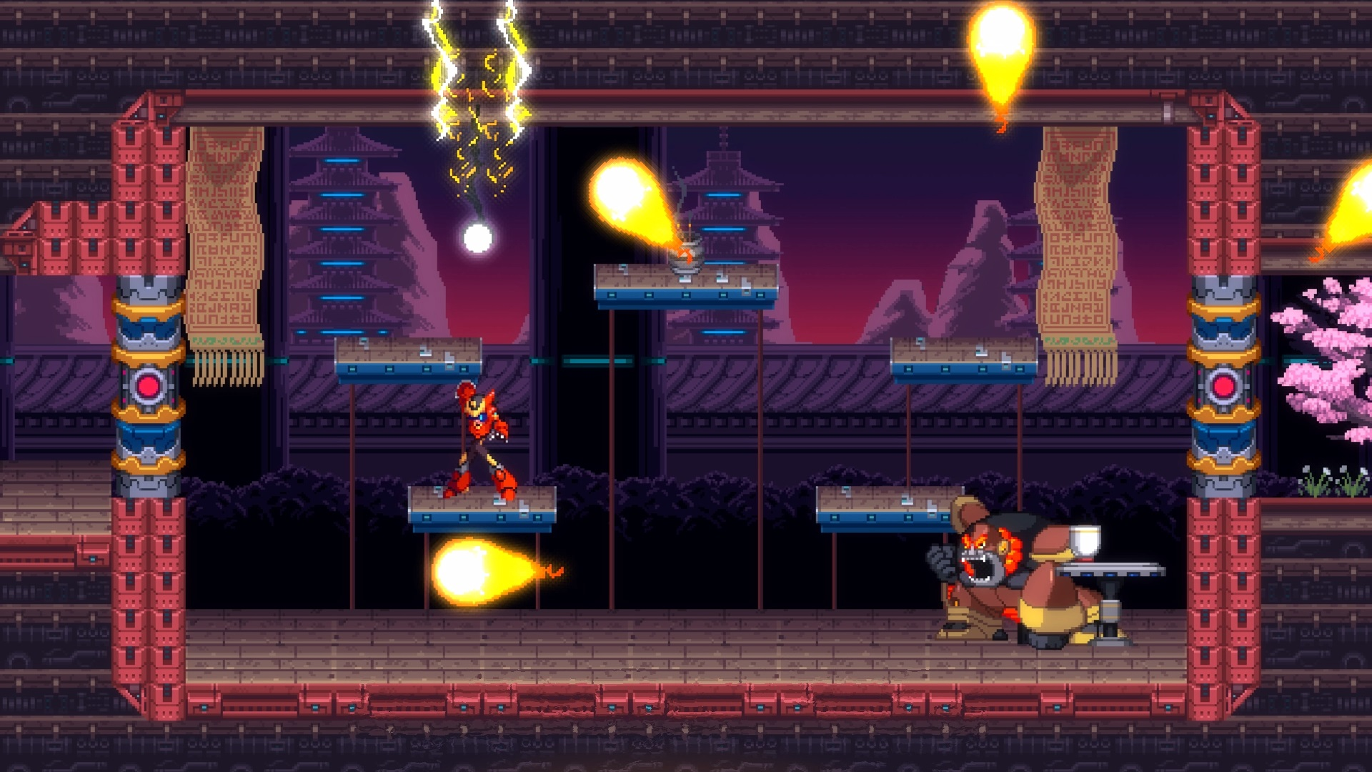 Contest: Win 30XX, a Mega Man-inspired action platformer, on Steam Early Access screenshot