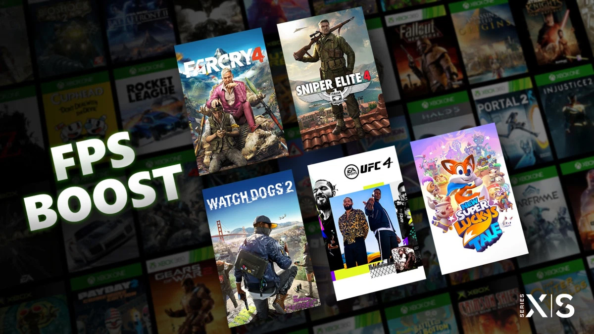 Xbox Series X's backward compatibility is great and it's getting even better with FPS Boost screenshot