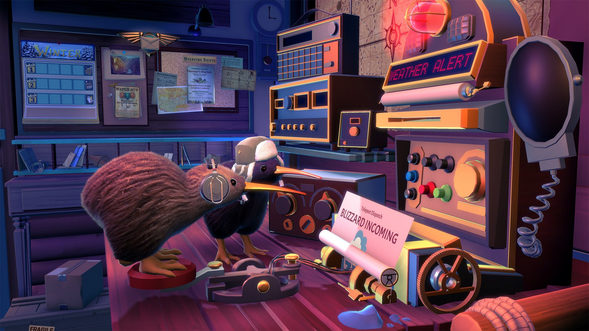 KeyWe, a kiwi-run mailroom game built for co-op, is coming to consoles screenshot