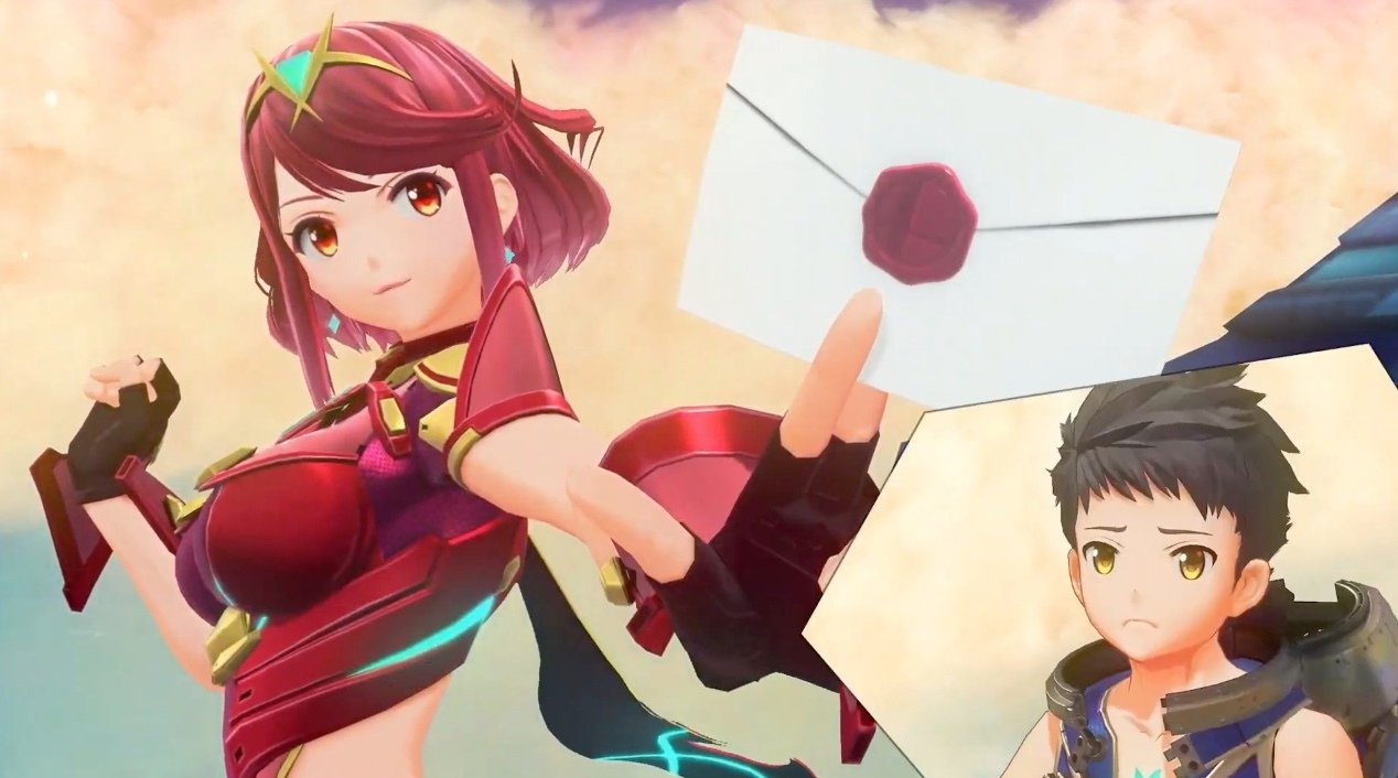 Pyra and Mythra from Xenoblade Chronicles 2 are coming to Smash Ultimate screenshot