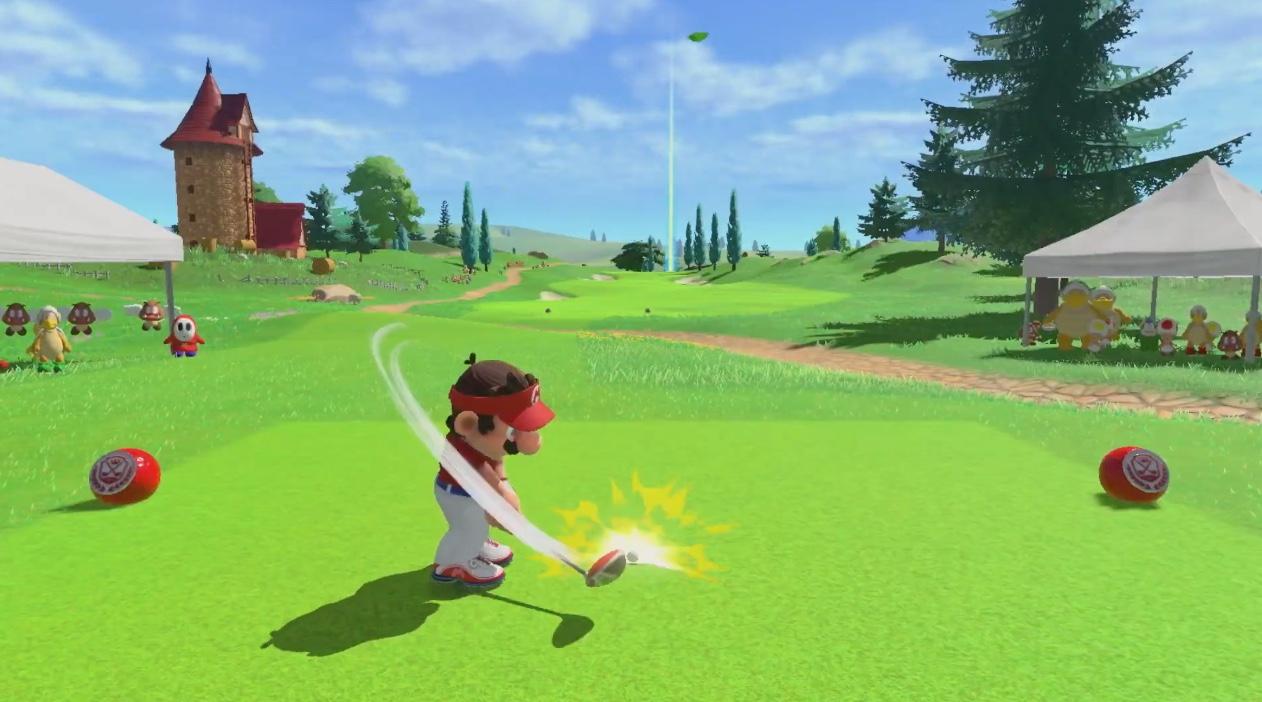 Mario Golf: Super Rush will have you running to Switch this June screenshot