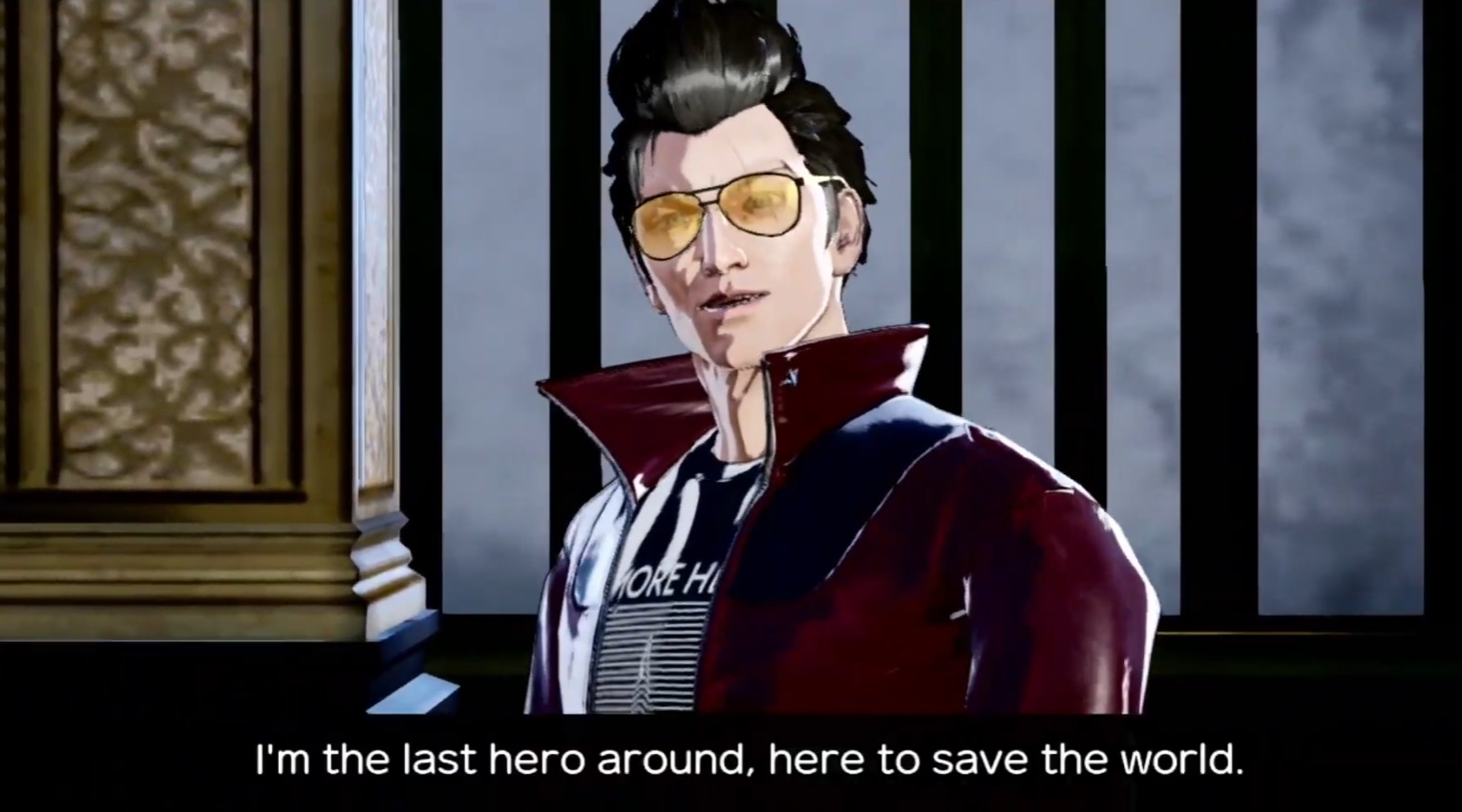 No More Heroes 3, out in August, brings back odd jobs, which are used to 'pay entry fees' for boss battles screenshot