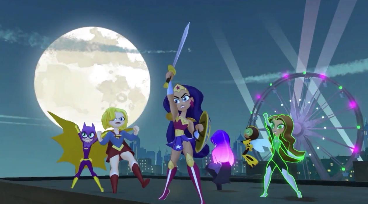 Who needs Gotham Knights when you have DC Super Hero Girls Teen Power? screenshot