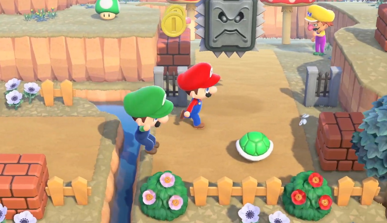 In-game Mario merch is coming to Animal Crossing: New Horizons screenshot