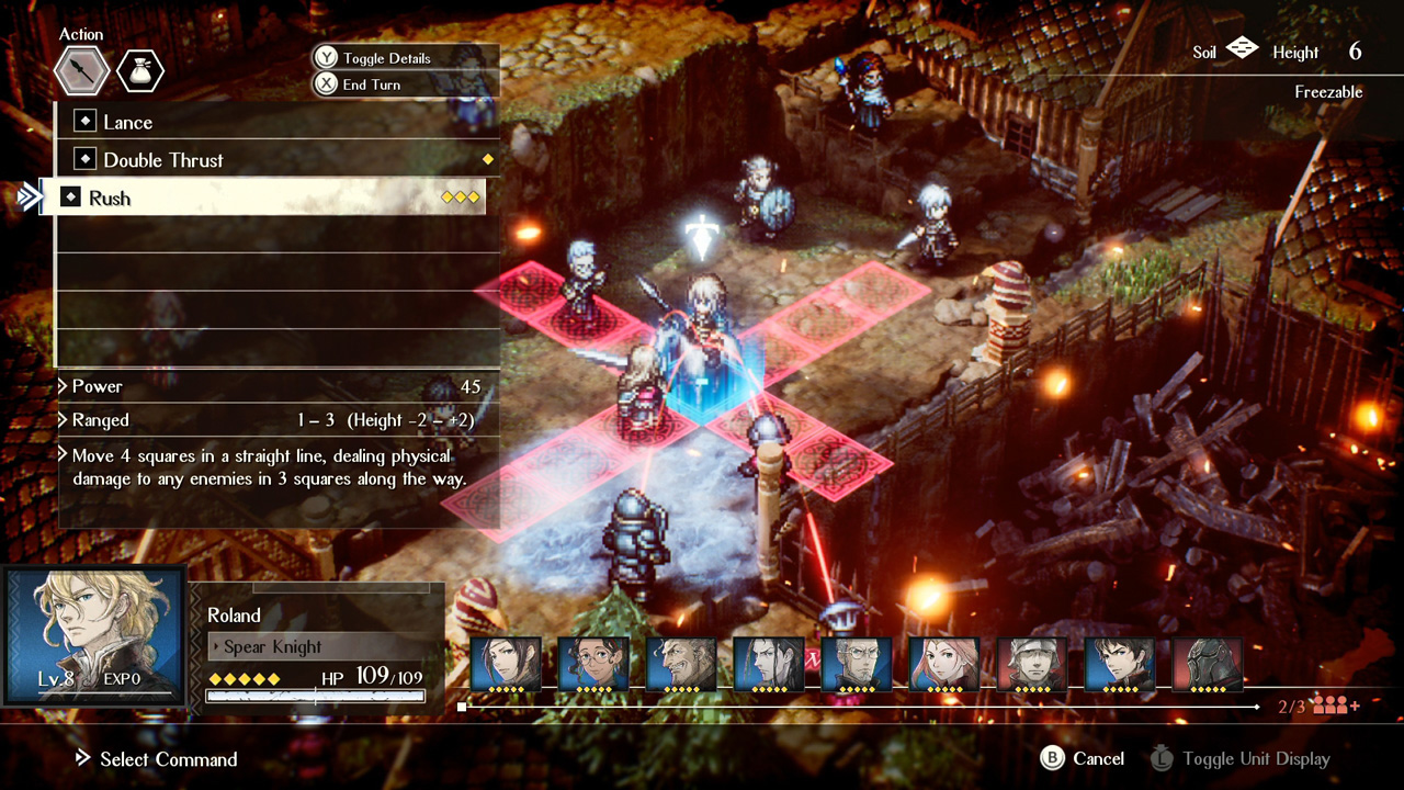 Project Triangle Strategy is a new Square Enix 'HD-2D' SRPG with a Switch demo today screenshot