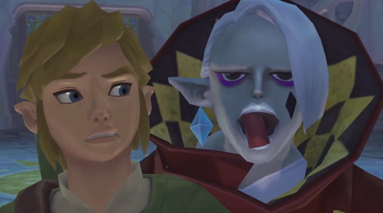 The Legend of Zelda: Skyward Sword HD has button and motion controls screenshot