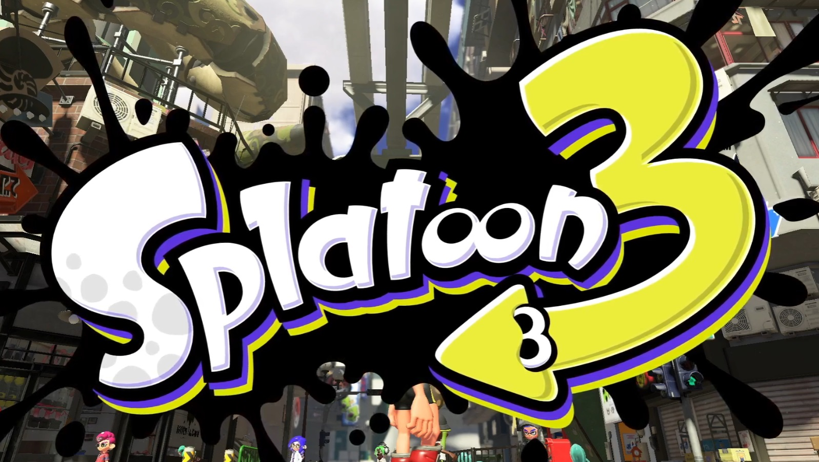 Today's Nintendo Direct 'one last thing' is Splatoon 3 screenshot