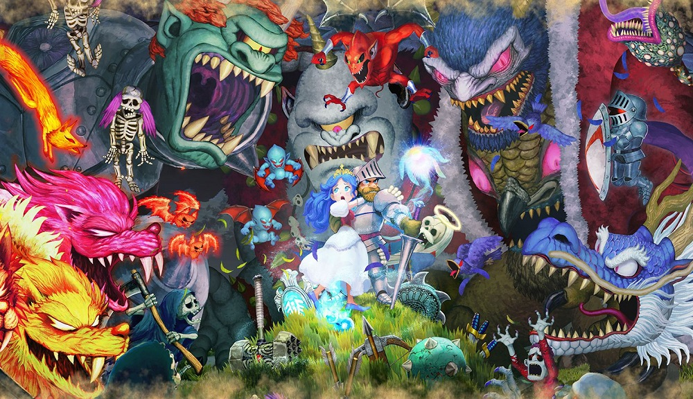 Arthur won't face danger alone thanks to Ghosts 'n Goblins Resurrection's strange co-op mode screenshot