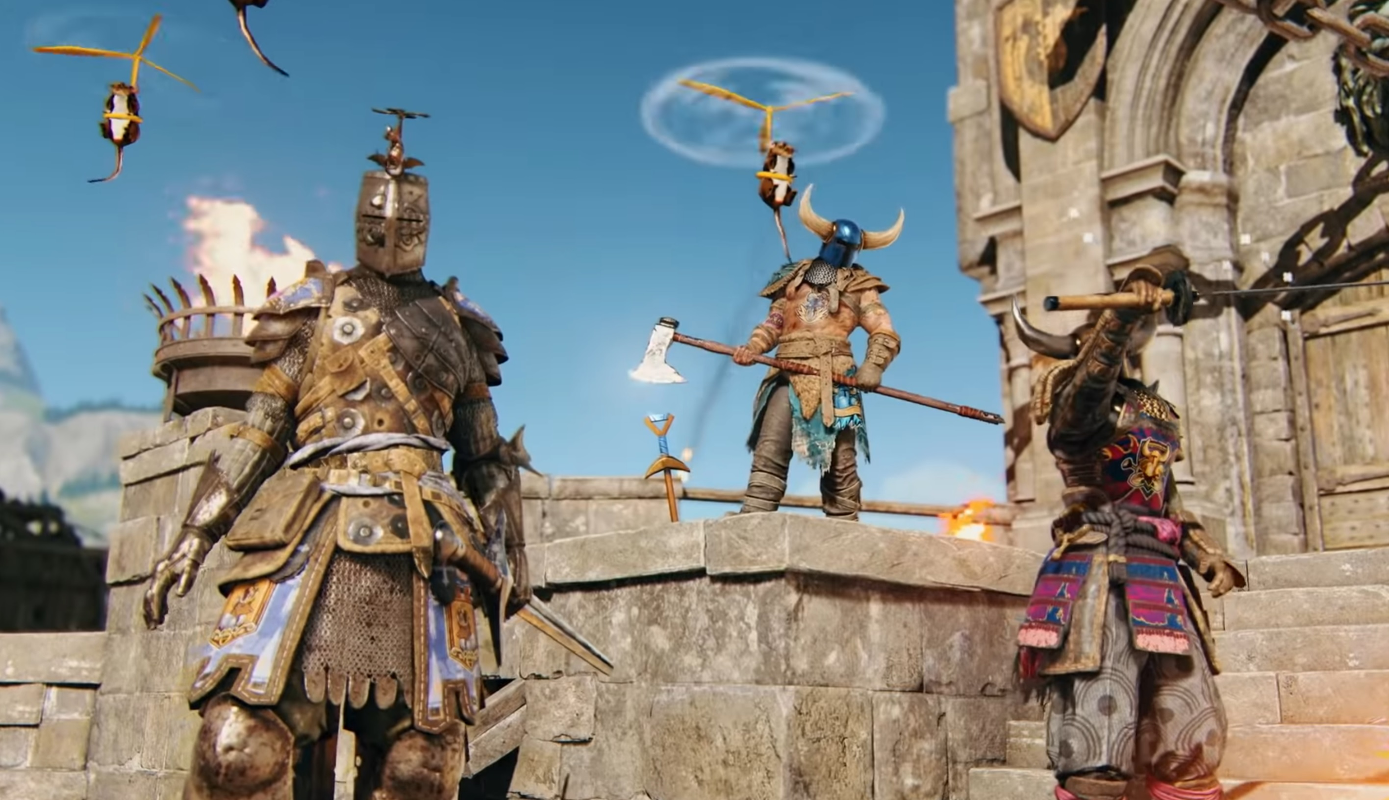 For Honor is getting...a Shovel Knight crossover? screenshot
