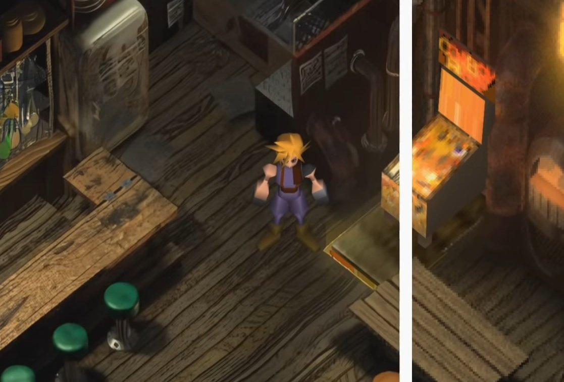 This new mod aims to remaster Final Fantasy VII in HD without going overboard screenshot
