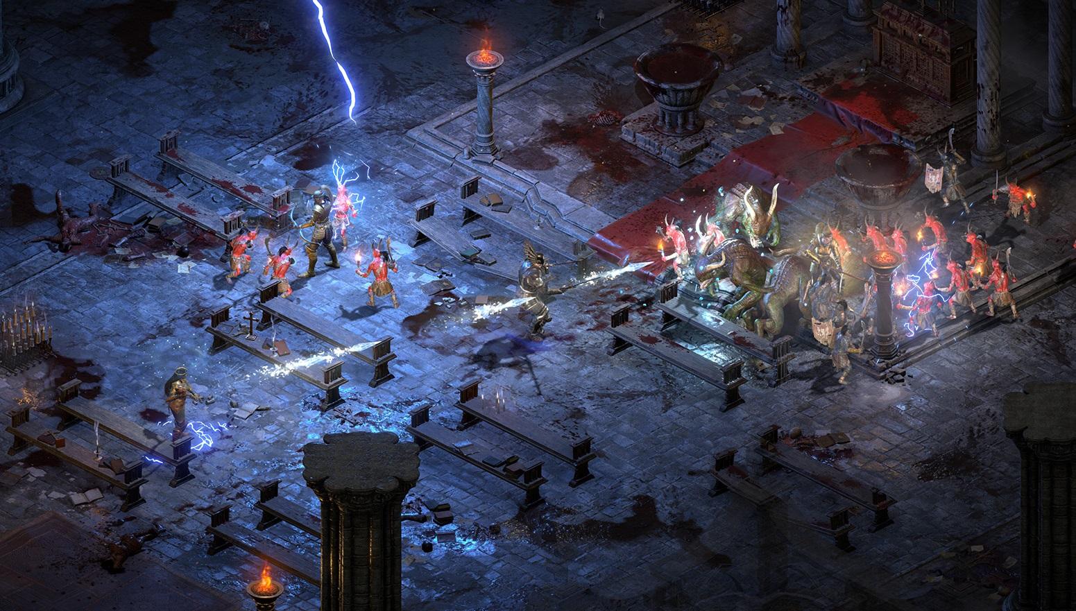 Blizzard: 'Diablo II Resurrected is a PC first experience,' offline play confirmed screenshot