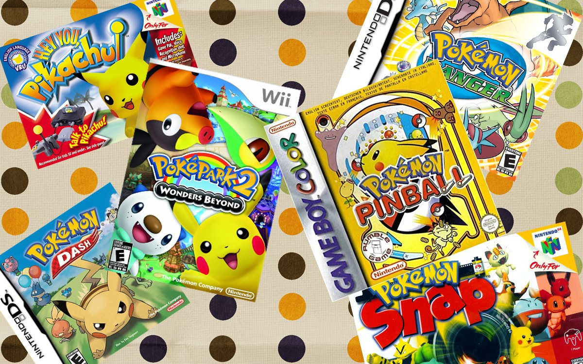 It's Pokemon Day and Destructoid wants to know your favorite Pokemon spin-off screenshot