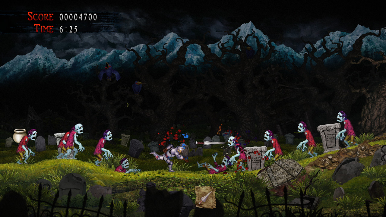 Review: Ghosts 'n Goblins Resurrection screenshot