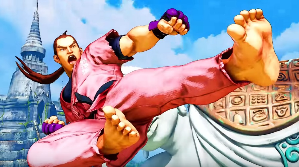 Street Fighter V's Dan Hibiki turns T-bagging into taunting screenshot