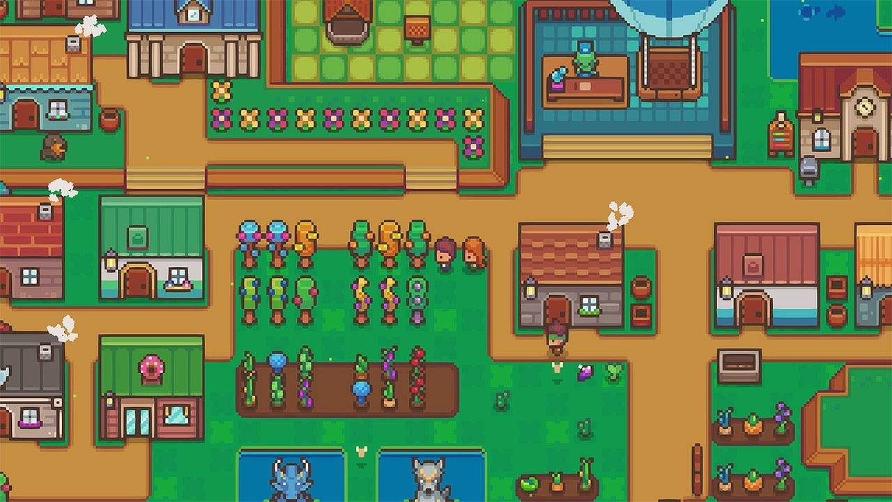 Littlewood, a Stardew Valley-like 'peaceful and relaxing RPG,' is out on Switch screenshot