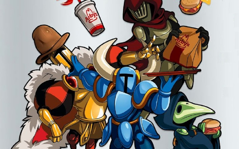 You can bag exclusive Shovel Knight in-game goodies at Arby's screenshot