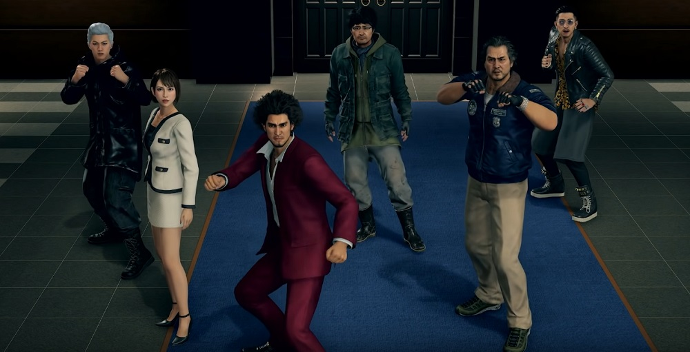 Get the gang back together for Yakuza: Like a Dragon on PS5 screenshot