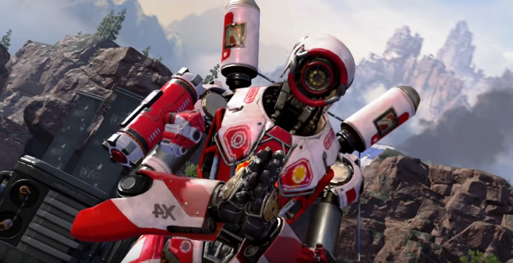 Apex Legends for Nintendo Switch looking pretty, explosive, and pretty explosive screenshot