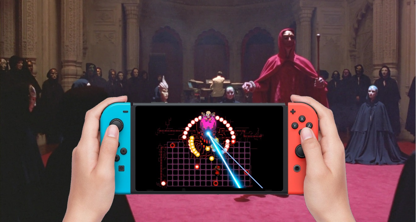 Contest: Win a brand new Switch console and a copy of trippy musical RPG Everhood screenshot