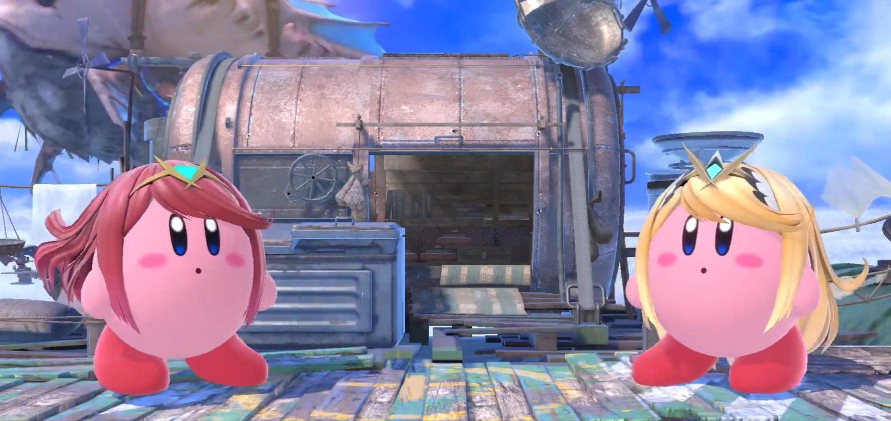 Sakurai gave us a closer look at Smash Ultimate's Pyra and Mythra today screenshot