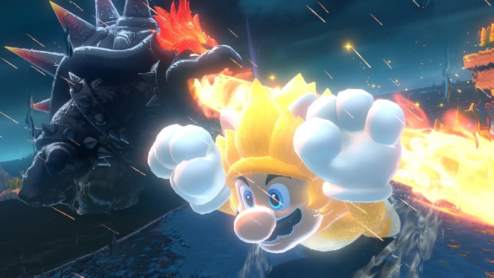 Mario leads Nintendo's continued success in the UK sales charts screenshot