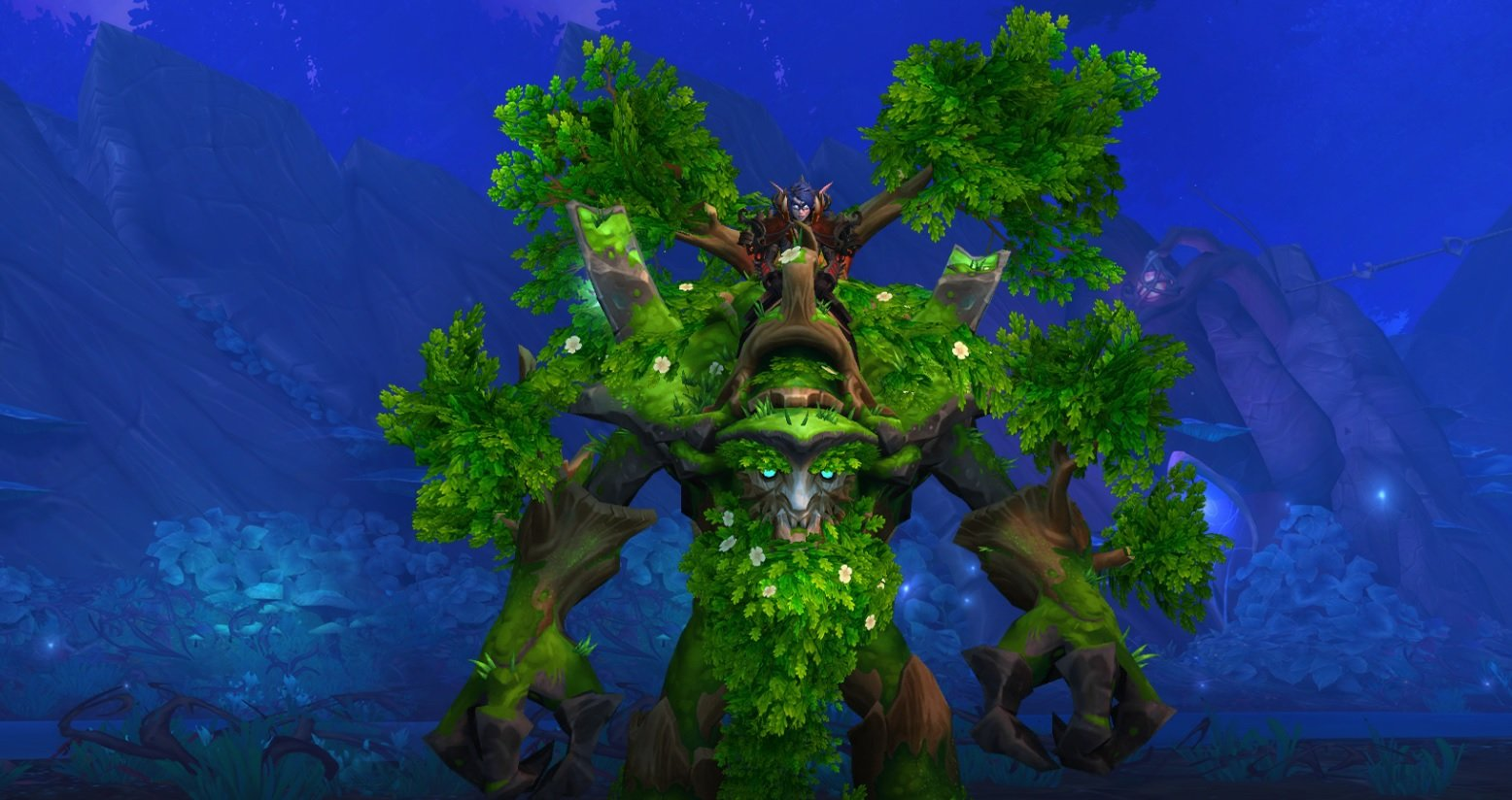 You get a free mount! Everyone gets a free World of Warcraft Wandering Ancient mount for logging in screenshot