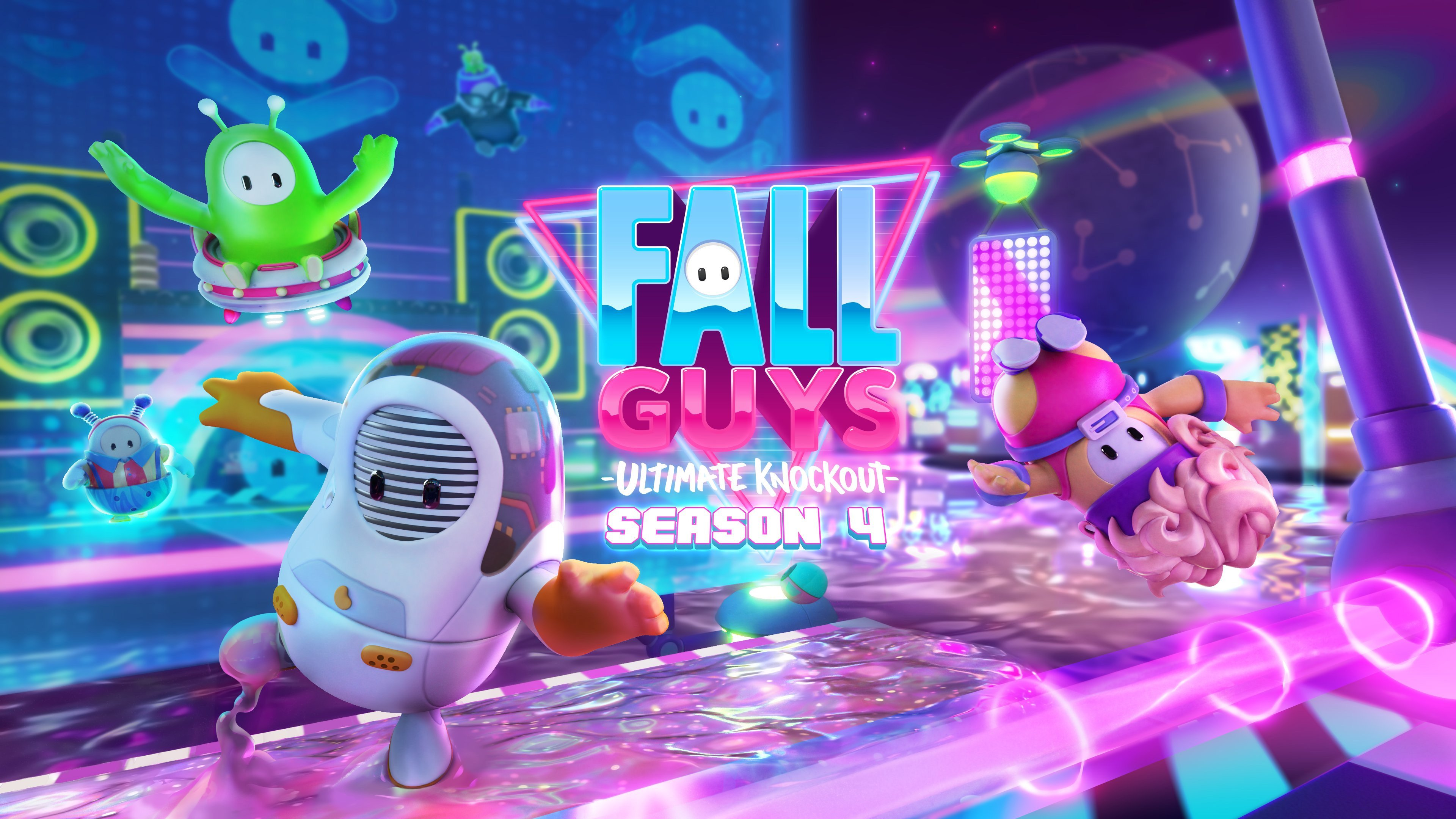 Fall Guys Season 4 has seven new levels and Skyline Stumble makes a good first impression screenshot