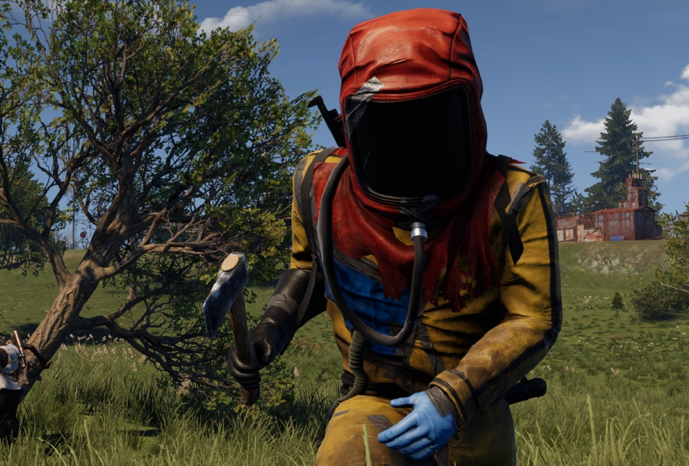 Rust: Console Edition videos showcase uncut PS4 and Xbox One gameplay screenshot