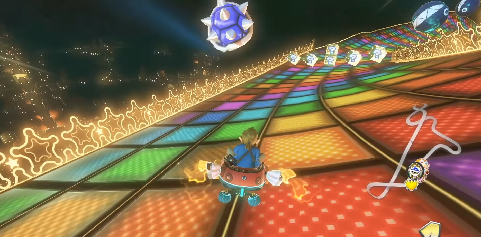 The new Mario Kart speedrunning craze is called 'Blue Yourself,' and it's a hoot screenshot