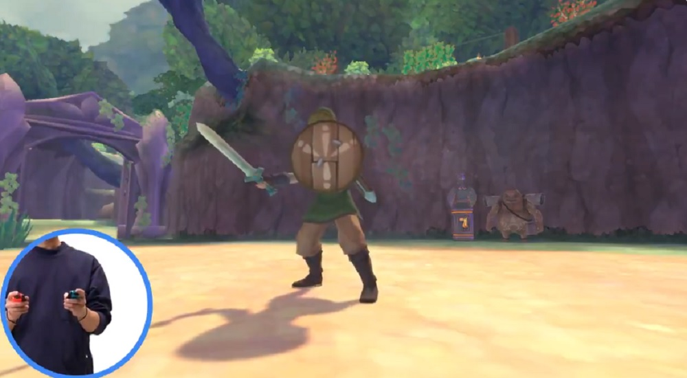 Nintendo boasts improved Zelda: Skyward Sword HD controls that are 'smoother' on Switch screenshot