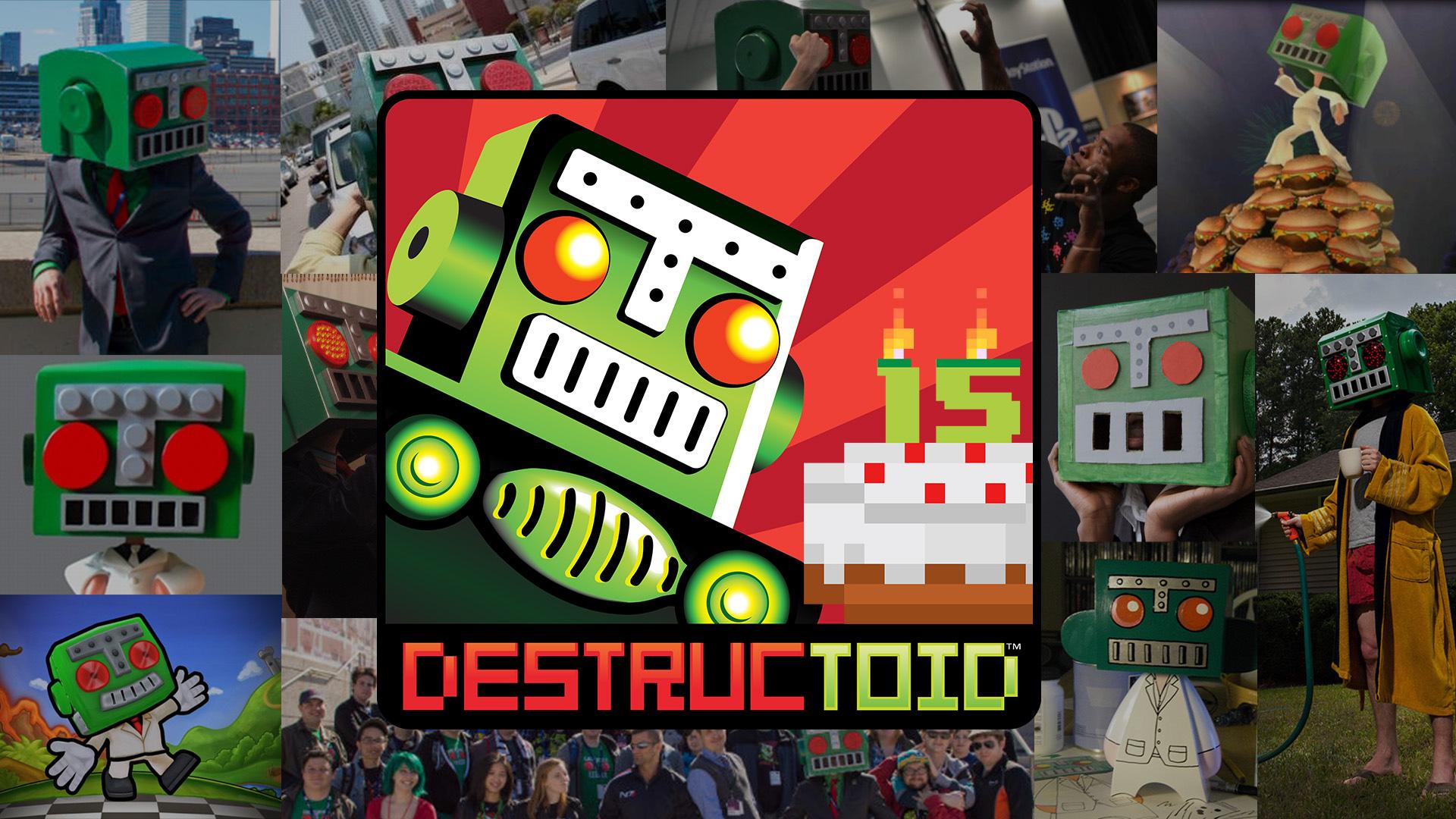 Happy 15th Birthday, Destructoid! screenshot