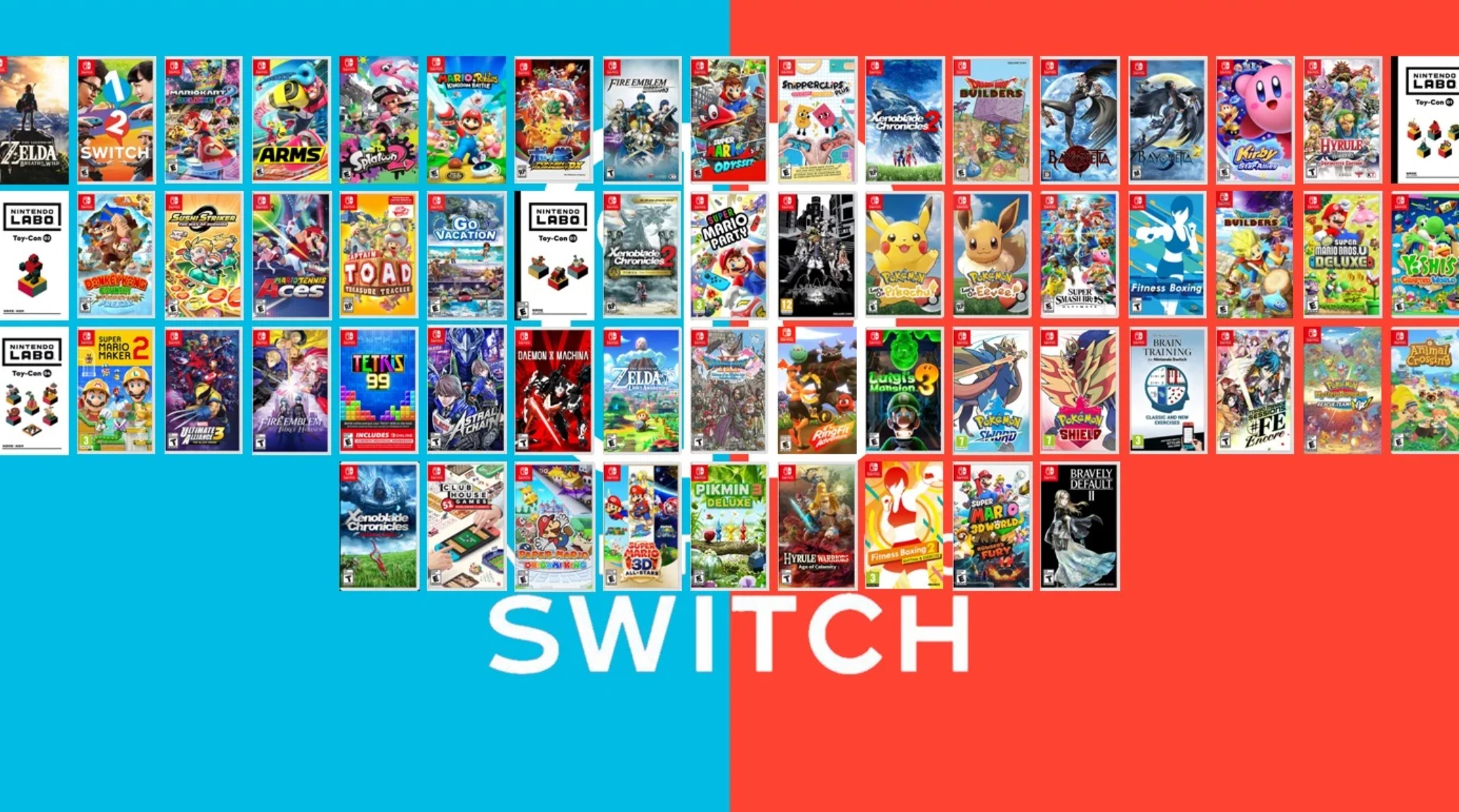Nintendo is poised for a huge year for the Switch, with 'record software and hardware' sales screenshot