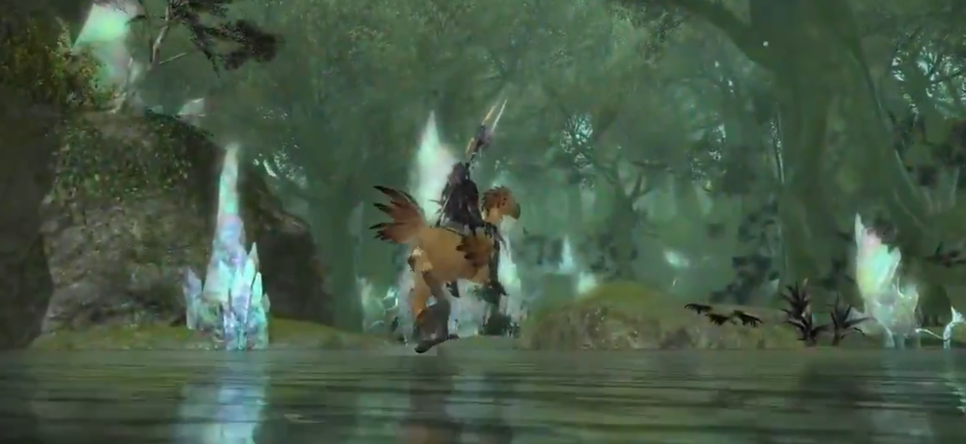 You can now listen to the Final Fantasy XIV: Endwalker theme without any voiceover or sound effects screenshot