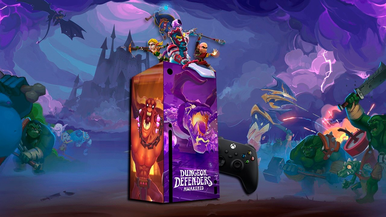 Contest: Win a custom-skinned Xbox Series X, courtesy of Dungeon Defenders: Awakened screenshot