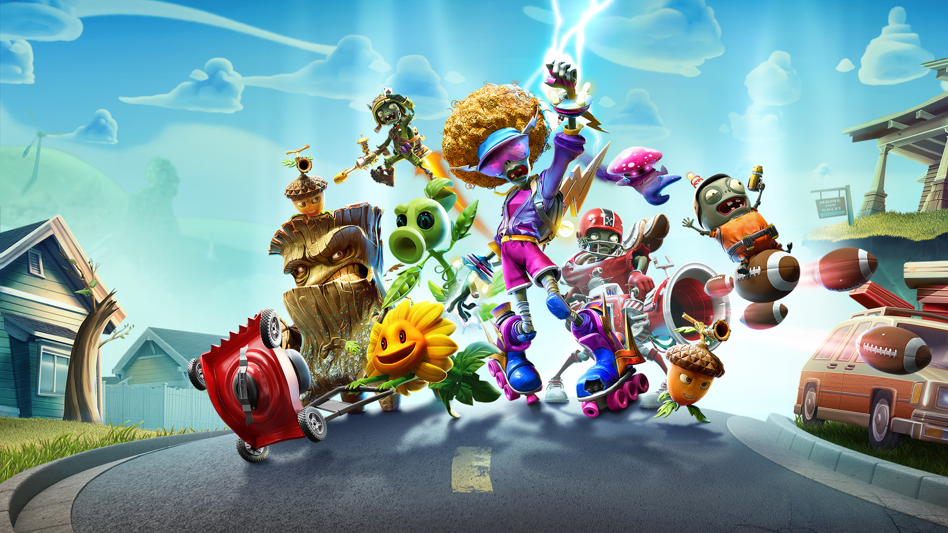 Nintendo Download: Plants vs. Zombies: Battle for Neighborville screenshot