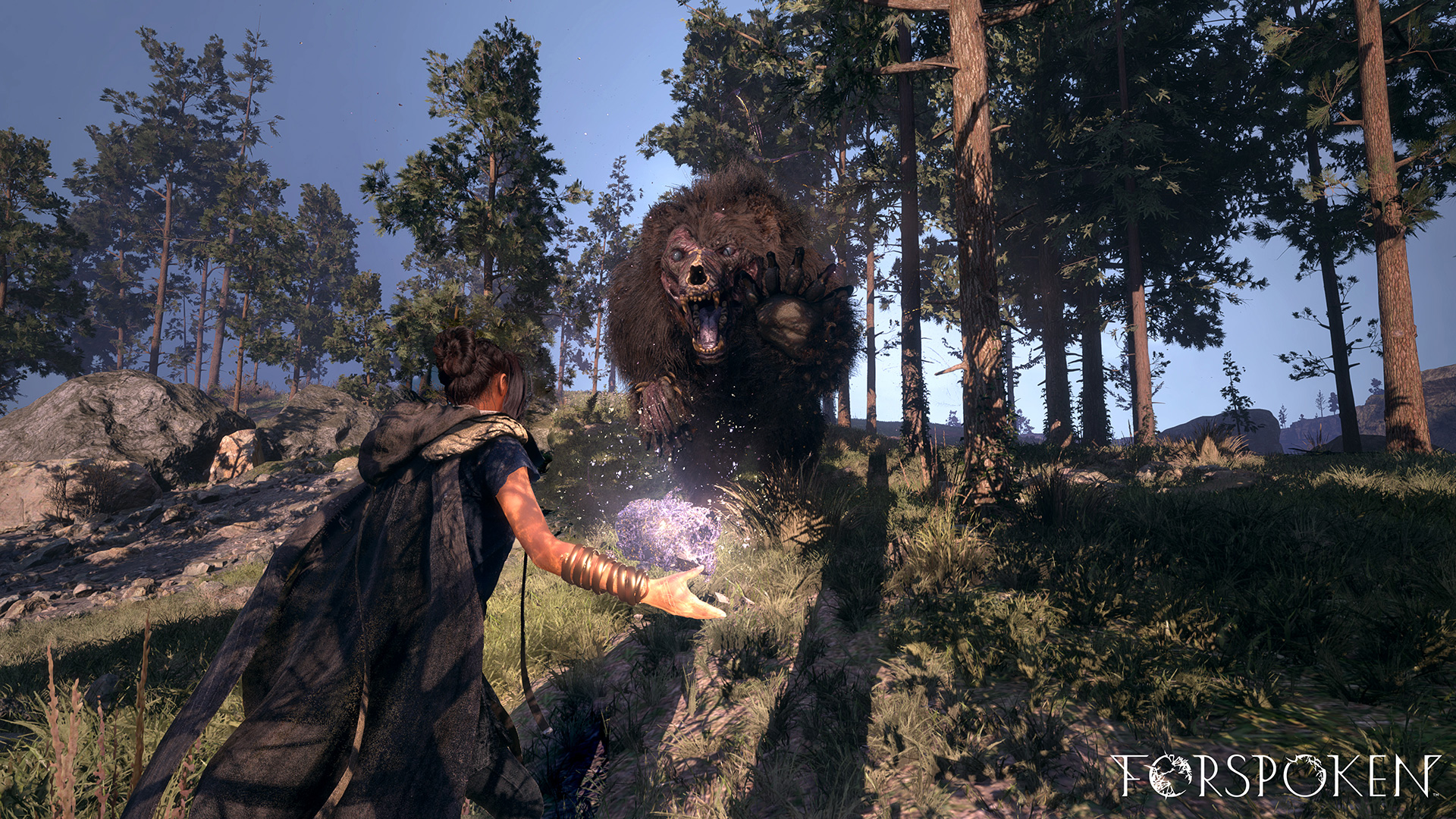 Project Athia is now called Forspoken and it has freaky bears screenshot
